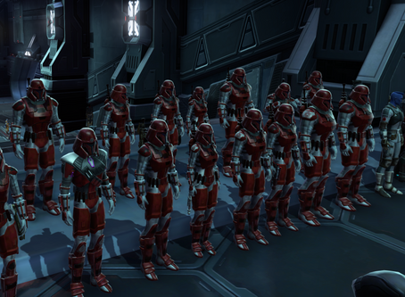 Imperial Army out in force