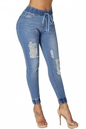 Jogger Jeans - Light Blue
