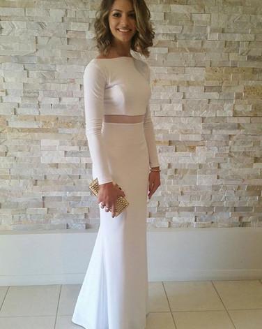 Gabriella looking stunning on formal nig