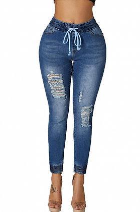 Jogger Jeans - Dark Blue