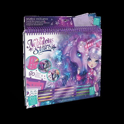 Fantasy Horses Creative Sketchbook - Space
