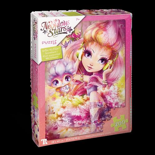 Glitter Puzzles 200 pcs - Petulia & Paloma