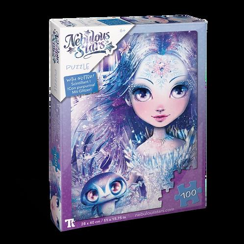 Glitter Puzzles 100 pcs - Iceana & Blizzia