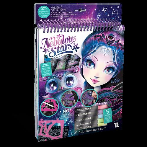 Kreatives Skizzenbuch - Schwarze Seiten
