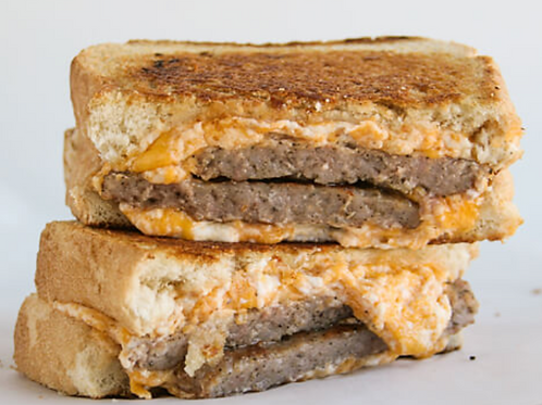 Grilled Cheese with Sausage