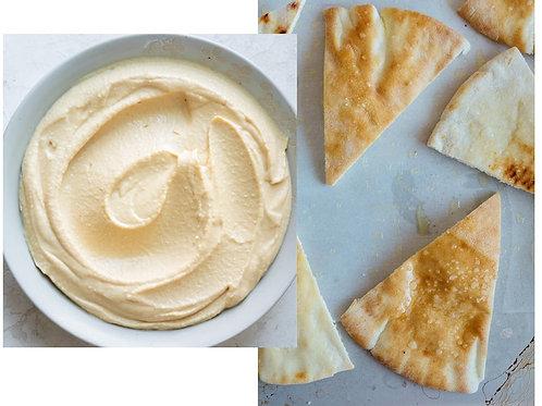 Hummus on Pita