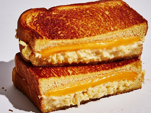Grilled Cheese with Egg