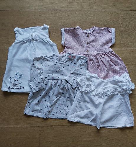 0-3 dresses