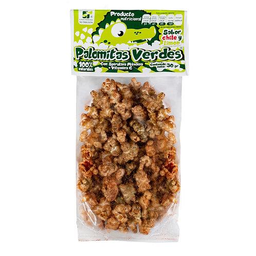 Palomitas Verdes CHILE (paquete con 12 pzs)