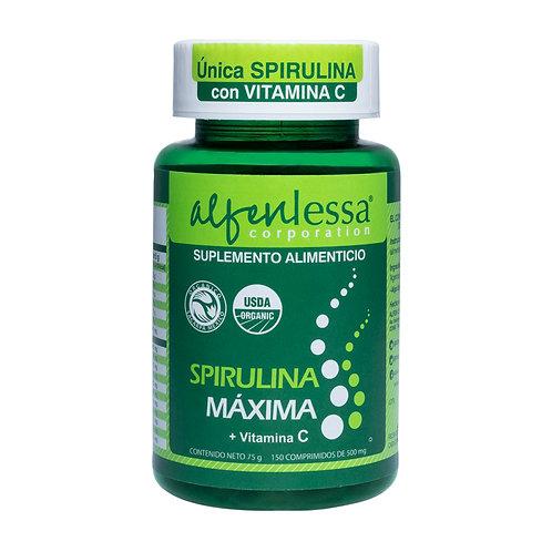 Spirulina Máxima Orgánica con Vitamina C