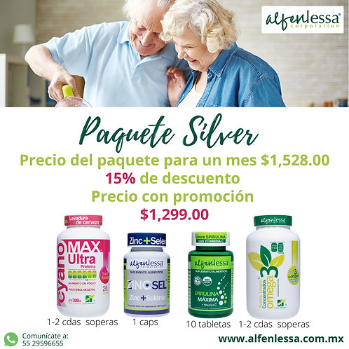 Paquete Silver