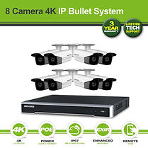 Hikvision 8 Camera 8MP(4K) Darkfighter B