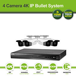 Hikvision 4 Camera 8MP(4K) Darkfighter B