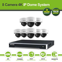 Hikvision 8 Camera 8MP(4K) Vandalproof D