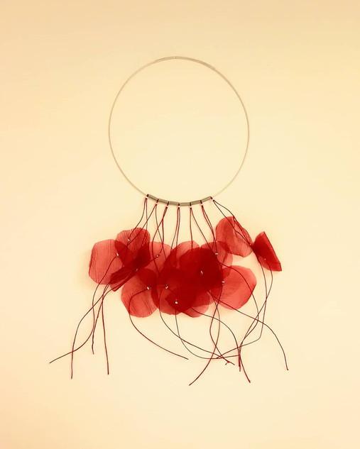 Pi Disseny, collar Petals Organdi