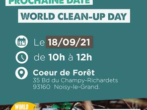 Rends ta forêt plus clean en participant au World Clean Up Day !