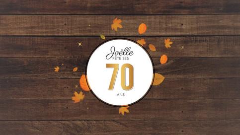 Joelle 70th Birthday