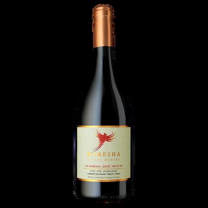 Tel Maresha - 45% Cabernet Sauvignon, 45% Merlot, 10% Syrah
