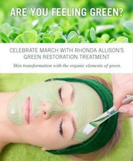 Rhonda Allison, Spring Facials, Detox Facial, acne facial, spring spa