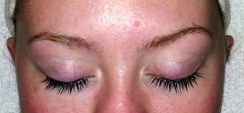 Lash and brow tinting, brow tinting, lash and brow dye