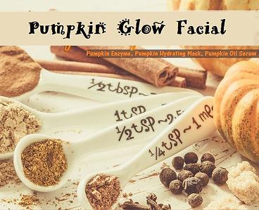 Pumpkin Glow Facial, Pumpkin Facial, Rhonda Allison Pumpkin, fall facial, pigmentation