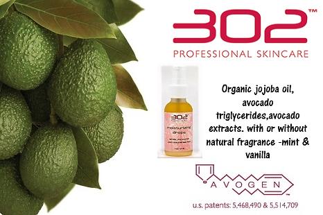 302 skin care, moisture drops, 302 moiture drops, acid free skin care, winter moisturizer