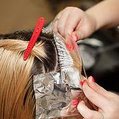 Root Touch up, Har dye, hir bleach, hair stylist, hair salon, Salon and Spa