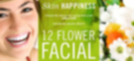 Rhonda Allison 12 Flower Facial, spring facial, mother's day facial, brightening facial, Rhonda Allison skin care