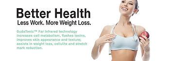 infrared, FAR, FIR, weight loss,sudatonic, infrared slimming, infrared detox