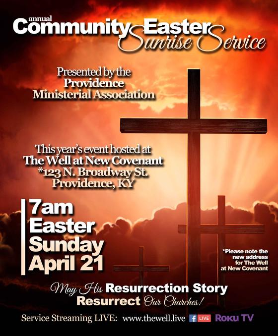 'Community Easter Sunrise Service' Announced