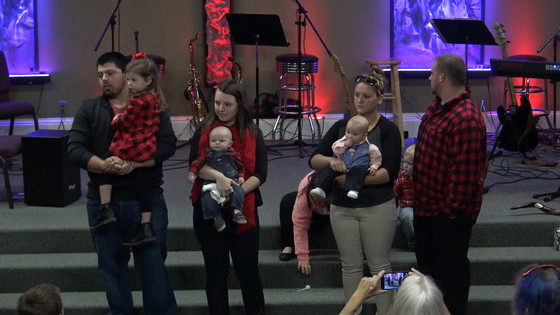 Baby Dedication (Video and Photos)