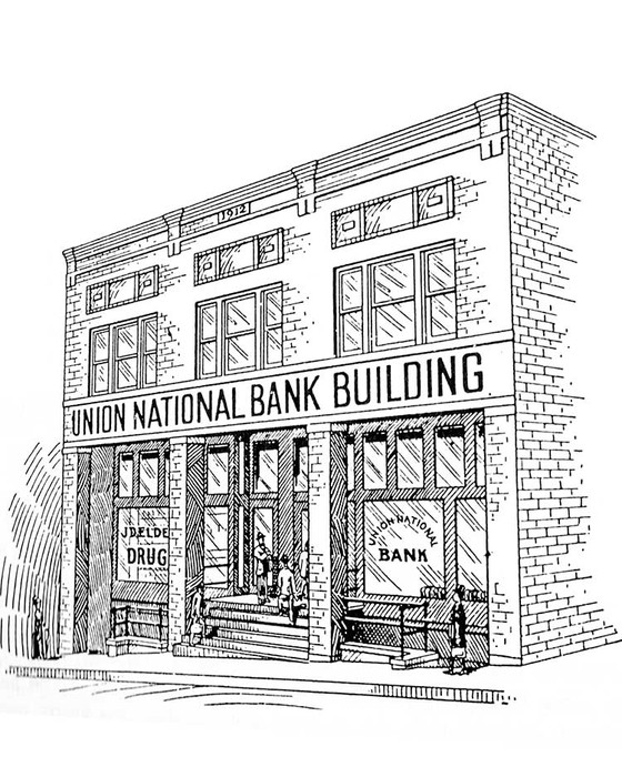 What did our building originally look like?
