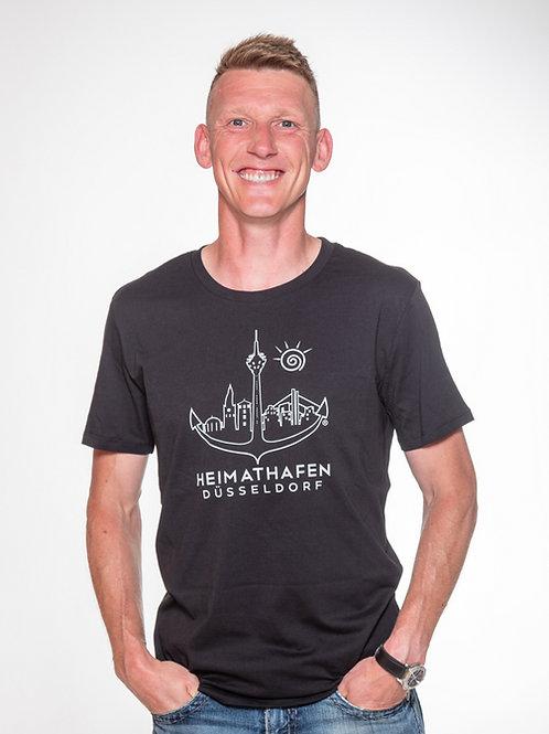 """T-Shirt """"Düssel"""" outline Herren"""