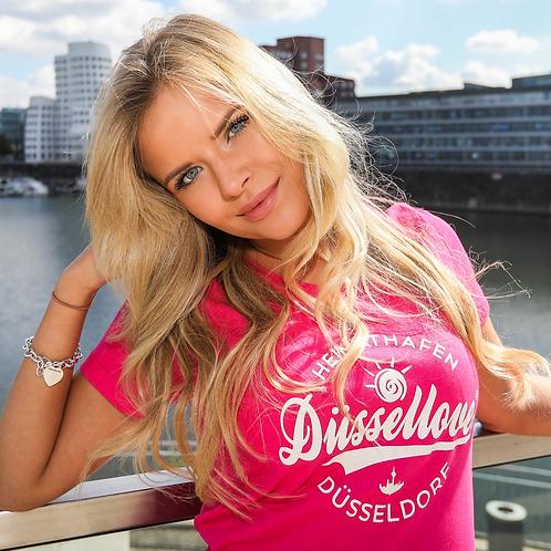 """T-Shirt """"Düssellove®"""" Frauen"""