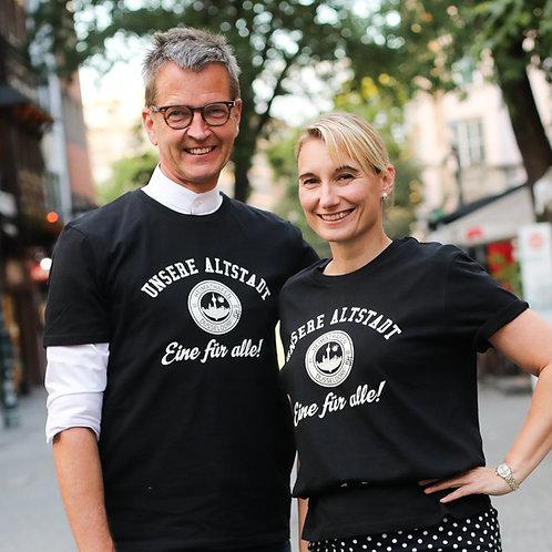 """T-Shirt """"Unsere Altstadt - Eine für alle"""" Herren"""