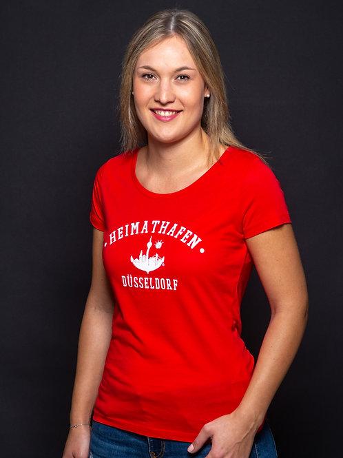 """T-Shirt """"College"""" Frauen"""