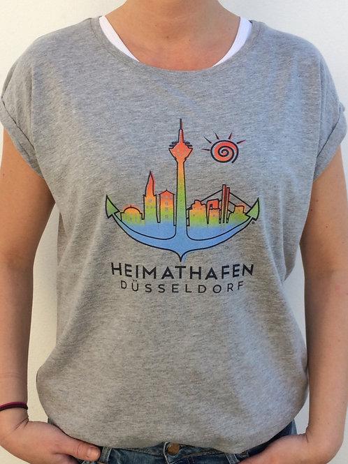 "T-Shirt ""Düssel"" bunt Frauen"