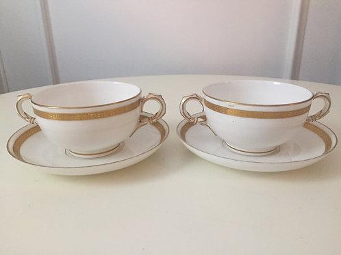 Vintage Bouillon Cups (2)