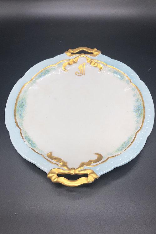 Antique 1906 Bavarian Plate