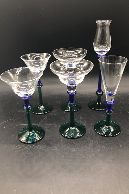Assorted Cordial Glasses (6)
