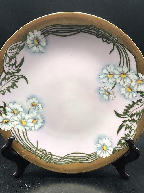 Antique Elite Limoges Gold Trim Plate