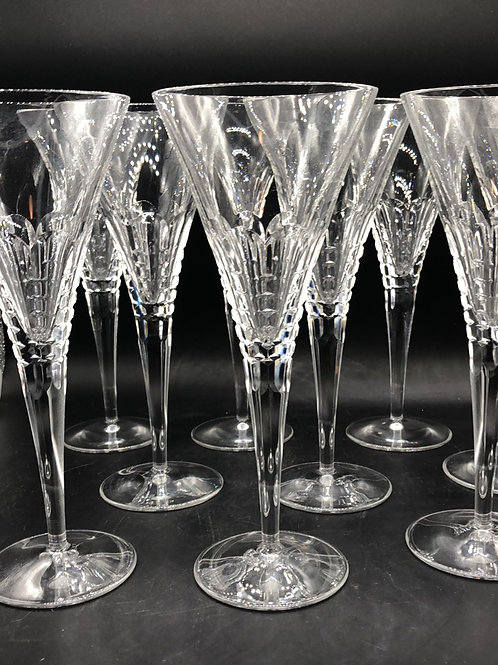 "Rogaska Champagne Glasses ""Amalfi"""