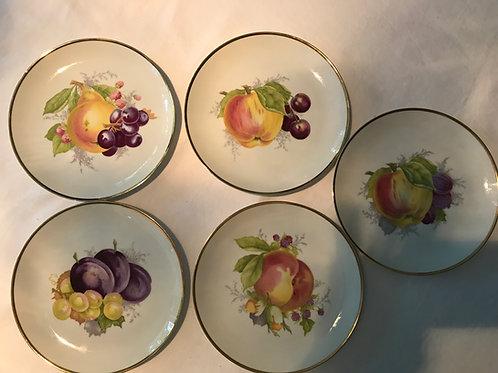 Vintage Fruit Plates