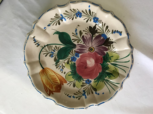 Italian Floral Plate