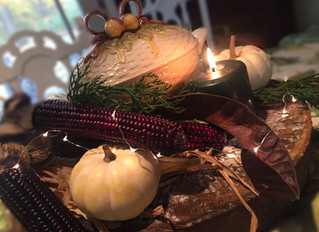 [ Thanksgiving: a Cozy Table ]