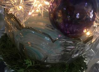 Punch Bowl & Christmas Bulbs