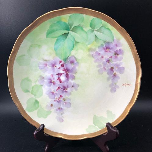 Ginori Floral Plate