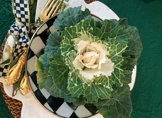 [ Another Use for Kale... TableGlamour ]