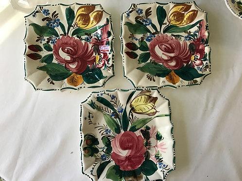 Italian Square Plates (3)
