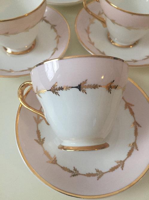 copy of Royal Grafton, Pink Classic Tea Set